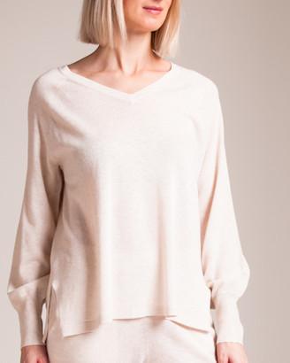Skin Organic Cotton Linen Brie Pullover