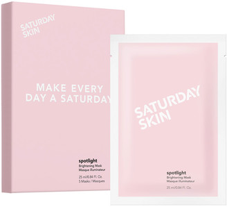 Saturday Skin Spotlight Brightening Mask 25Ml X 5 Sheets