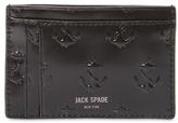 Jack Spade Embossed Anchor Card Holder