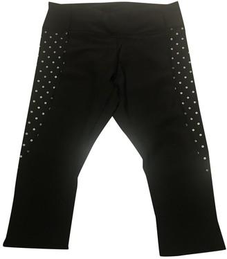 Lululemon Black Spandex Trousers