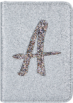Accessorize Glitter A Alphabet Passport Holder
