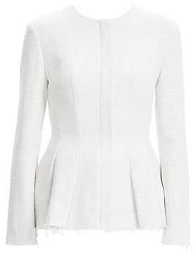 4a63bf3556b727 Tweed Peplum Jacket - ShopStyle