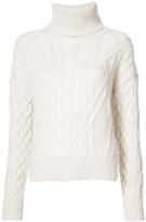 Nili Lotan Cecil Oversized Neck Sweater