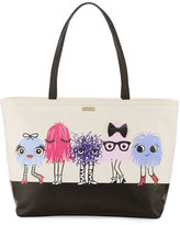 Kate Spade Imagination Francis Monster Tote Bag, Multicolor