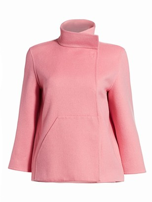 Akris Rafael Cashmere Double-Face Jacket
