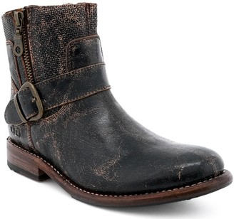 Bed Stu Short Leather Boots - Becca