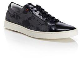 HUGO BOSS 'Futamio' - Print Canvas Sneaker
