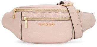 MICHAEL Michael Kors Double Zipped Compartment Belt Bag