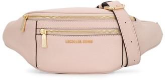 MICHAEL Michael Kors double zipped compartment belt bag