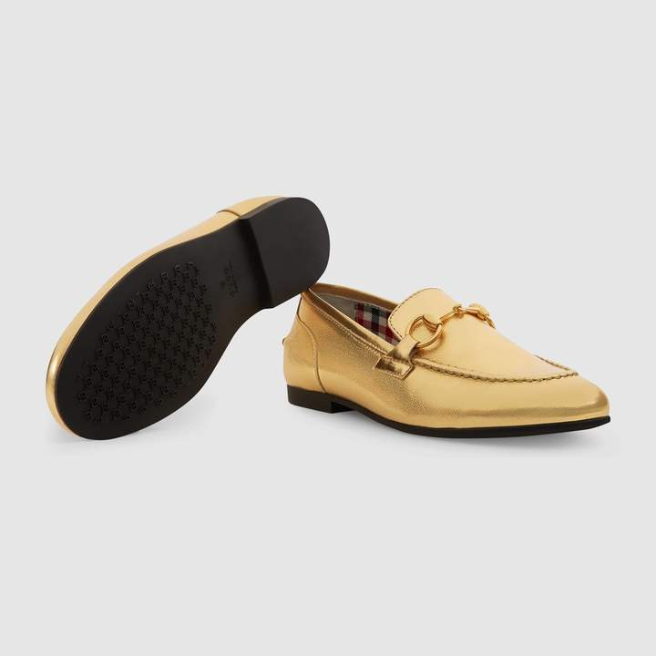 Gucci Children's Jordaan leather loafer