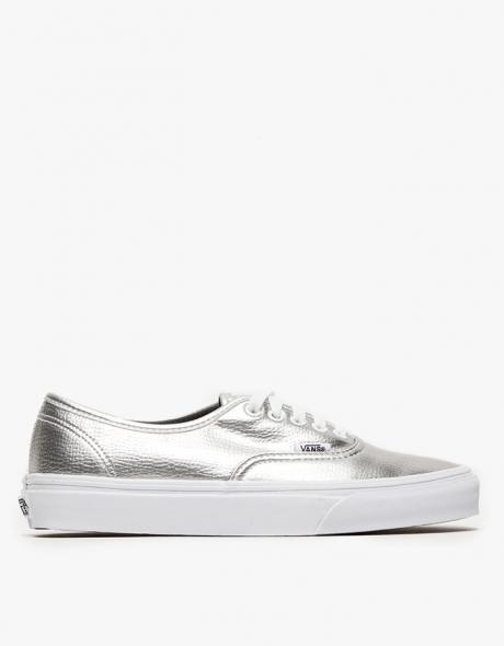 Vans Authentic in Metallic Silver