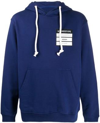 Maison Margiela Stereotype cotton hoodie