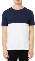 Topman Men's Multi Panel T-Shirt