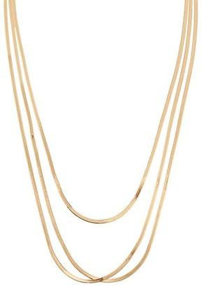 Lana Liquid 14K Gold 3-Strand Layering Necklace