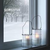 SnuggleDust Studios 'Homespun Christmas' Festive Wall Sticker
