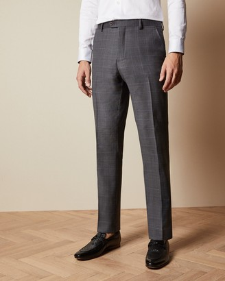 Ted Baker FEENT Endurance checked wool trousers