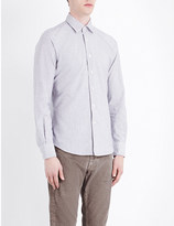 SLOWEAR Kurt slim-fit brushed cotton shirt