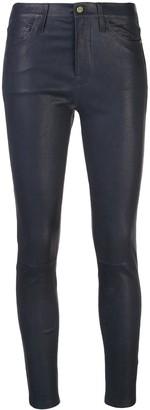 Frame High-Waisted Skinny Jeans