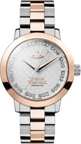 Vivienne Westwood VV152RSSL Bloomsbury silver rose-gold watch