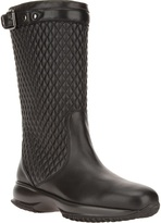 Hogan quilted mid-calf boot