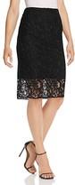 T Tahari Carolina Lace Pencil Skirt