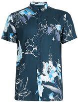 Selected Blue Short Sleeve Shirt