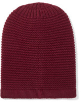 Iris and Ink Ribbed Merino Wool And Cashmere-Blend Beanie