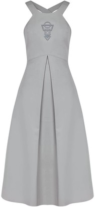 Mirimalist 3D Printed Sacred Dress Grey