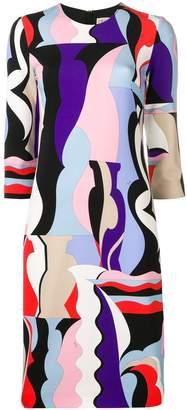 Emilio Pucci Vallauris Print Shift Dress