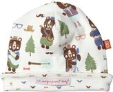Magnificent Baby Hipster Bear Band Hat (Baby) - Green-One Size
