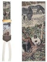 Trafalgar 'Endangered Species' Silk Suspenders (Limited Edition)