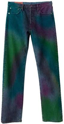 Acne Studios 1996 rainbow spray jeans