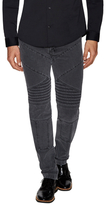 Givenchy Pintuck Zip Slim Jeans