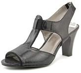 Karen Scott Lilyy Open Toe Canvas Sandals.