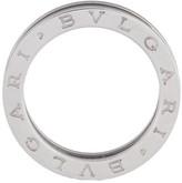 Bulgari Bvlgari B.Zero1 Band 18K White Gold Ring Size 8.25