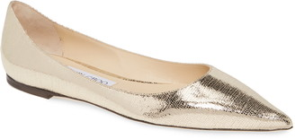 Jimmy Choo Love Metallic Flat