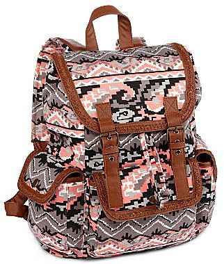 JCPenney Olsenboye® Aztec Print Backpack