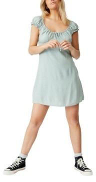 Cotton On Woven Maive Sweetheart Mini Dress