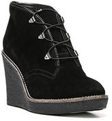 Fergie Ophelia Suede Wedge Bootie