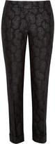 Stella McCartney Portman jacquard straight-leg pants
