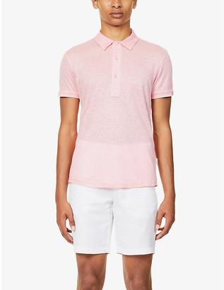 Orlebar Brown Sebastian linen polo shirt