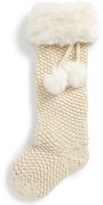 Nordstrom Knit Faux Fur Stocking