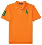 Ralph Lauren Boys' Big Pony Mesh Polo Shirt - Sizes S-XL