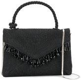Dries Van Noten Mini Bag with Top Handle and Beaded Embellishment