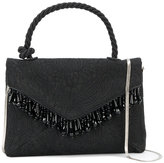 Dries Van Noten mini beaded embellishment bag - women - Leather/Acrylic/Polyester/Brass - One Size