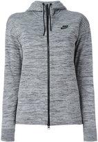 Nike zip hooded cardigan