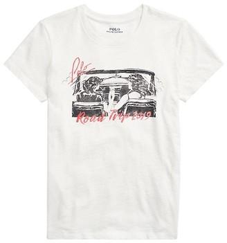 Polo Ralph Lauren Graphic Road Trip T-Shirt