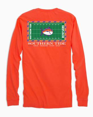 Southern Tide Clemson Tigers Stadium Long Sleeve T-Shirt