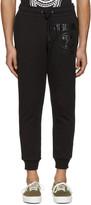 Moschino Black Logo Lounge Pants