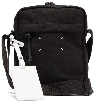 Maison Margiela Canvas Cross Body Bag - Mens - Black